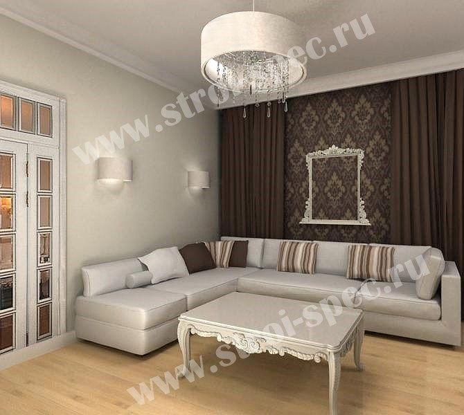 Ремонт комнат под ключ в Москве, стоимость ремонта