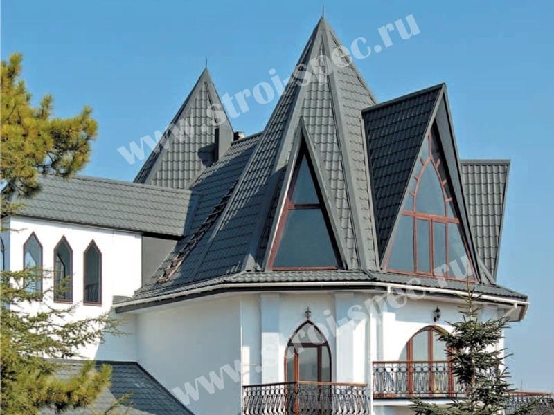 Кровельный мягкий материал для крыши